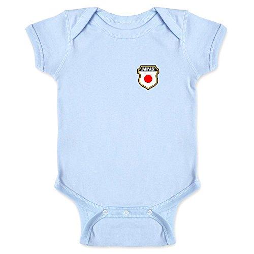 Japan Soccer Retro National Team Light Blue 24M Infant Bodysuit