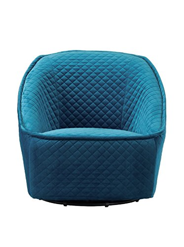 Zuo Modern Pug Swivel Chair Aquamarine, - Chair Folding Zuo Modern Modern