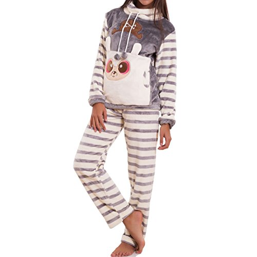 Toocool - Pijama - para mujer gris