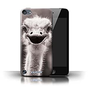 STUFF4 Phone Case / Cover for Apple iPod Touch 5 / Ostrich/Emu Design / Mono Zoo Animals Collection