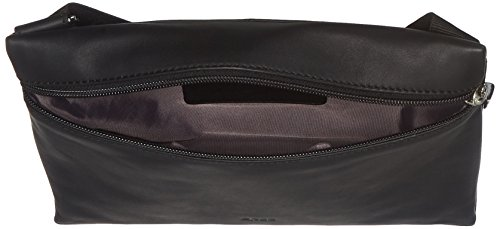 BREE Vora 2, Black, Cross Shoulder M - Borse a spalla Donna, Schwarz (Black), 6x20.5x26.5 cm (B x H T)