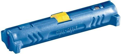 TALLA 5 Abisolierer. Unbekannt Pelacables para Cables coaxiales Compatible con Todos los Cables coaxiales habituales, Color Rojo 5 Abisolierer