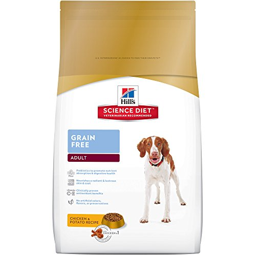 Hills-Science-Diet-Adult-Grain-Free-Chicken-Potato-Recipe-Dog-Food-21-Pound-Bag