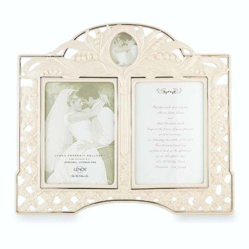 - Lenox Wedding Promises 5-Inch x 7-Inch Fine China Double Frame