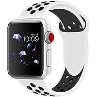 Band4u Apple Watch Band 42mm 38mm,Soft Silicone Strap...