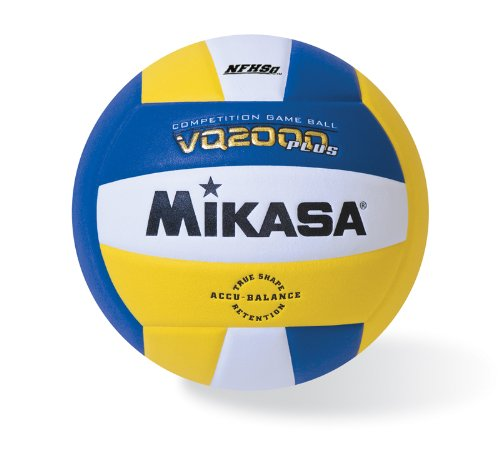Mikasa Micro cell Volleyball, Royal/Gold/White