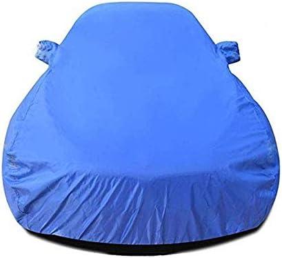 レクサスRC F 5.0L、ヘビーデューティスクラッチ証拠耐久カーカバー、防水雨防塵自動車屋内屋外と互換性通気性の良いフルカーカバー、 (Color : Blue)