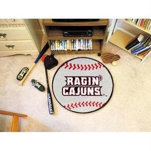 (Louisiana-Lafayette Baseball Rug)