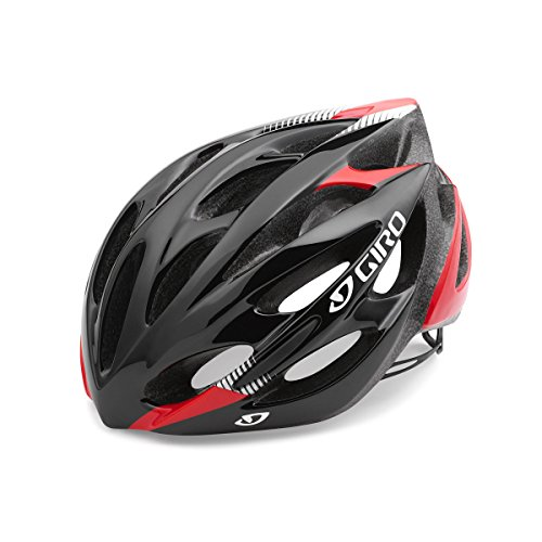 Giro Helm Monza, Black/Bright Red, M, 7066560