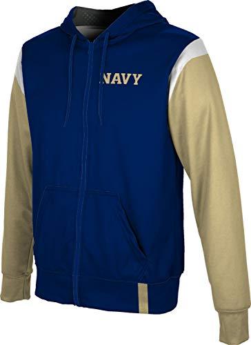 ProSphere United States Naval Academy Men's Full Zip Hoodie - Tailgate FF30