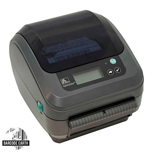 Zebra GX420D 802.11 Wireless WiFi Direct Thermal Label Printer (GX42-202710-000) (Renewed) by Zebra Technologies (Image #1)
