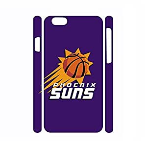 Modern Dustproof Artsy Style Basketball Logo Print Skin Case For Iphone 6 Plus (5.5 Inch) Cover