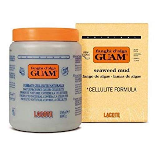 Guam Anti Cellulite Treatment, Seaweed Body Wrap, Original Formula, 1KG Mud (Best Anti Cellulite Products)