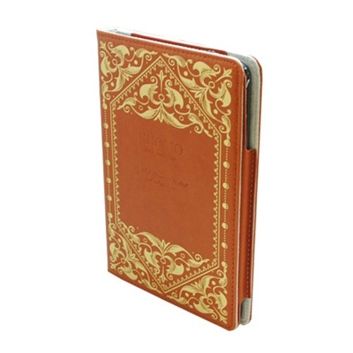 KHOMO ® Brown Book Style Leather Case with Built-in Stand for Apple iPad Mini 7.9 Inch by KHOMO (Image #2)