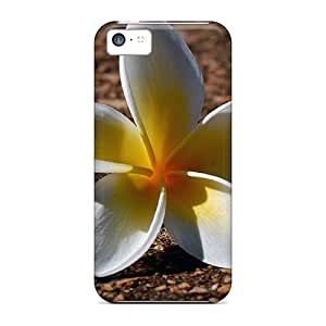 Mkv30105CjJP Favorcase White Plumeria Durable Iphone 5c Cases