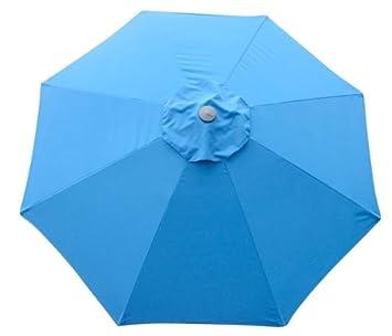 Lovely New Market Patio Umbrella Replacement Canopy Canvas Cover 8u0027 9u0027 10u0027 11u0027