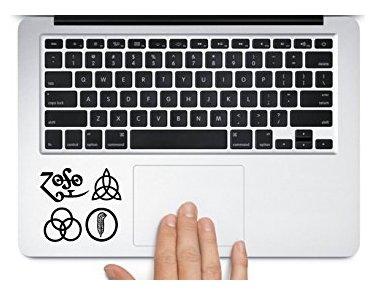 - Led Zeppelin Album Logo Symbol design car laptop macbook mac pro mac air window decal sticker - Sticker Graphic - Auto, Wall, Laptop, Cell