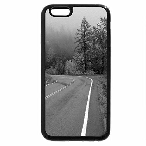 iPhone 6S Plus Case, iPhone 6 Plus Case (Black & White) - Autumn Ride