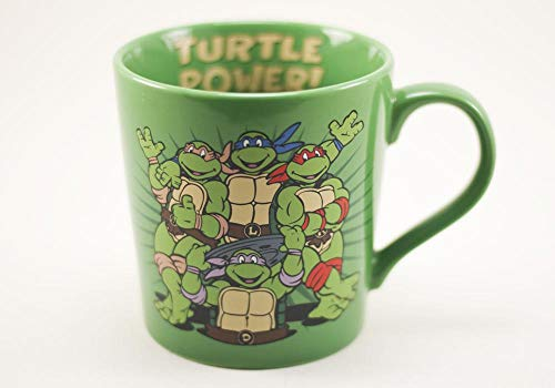 Teenage Mutant Ninja Turtles 12 oz Coffee Mug (Turtle Mug Ninja Coffee)