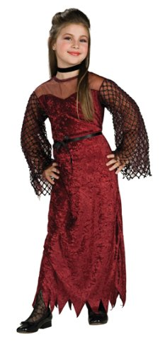 Gothic Enchantress Costume (Rubie's Girls' Gothic Enchantress Costume 12-14 Burgundy)