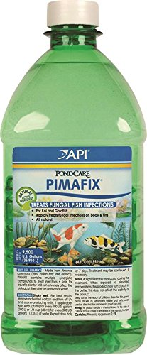API POND PIMAFIX Antifungal Pond Fish Infection Remedy 64-Ounce Bottle