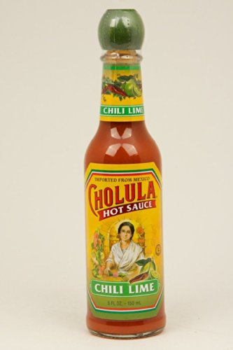Cholula Chile Lime Hot Sauce 5 oz (Pack of