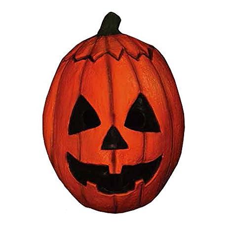 TRICK OR TREAT STUDIOS Men's Halloween III-Pumpkin Mask, Multi, One Size JMUS108