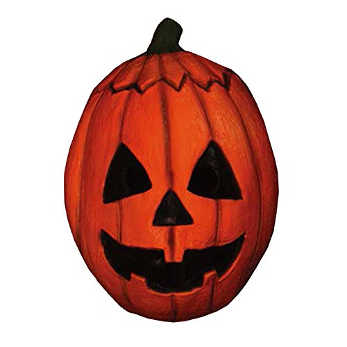 Halloween 3 Pumpkin (Trick or Treat Studios Men's Halloween III-Pumpkin Mask, Multi, One Size)