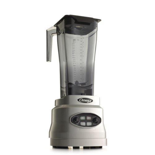 Omega BL660S 3-HP Variable Speed Blender, 82-Ounce, Silver