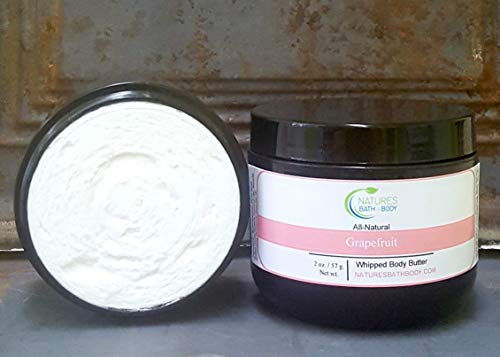 All Natural Grapefruit Whipped Body - Grapefruit Body Whipped