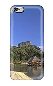 Shannon Galan's Shop New Premium Flip Case Cover Bora Bora Skin Case For Iphone 6 Plus
