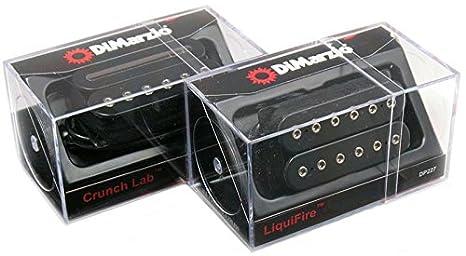 DIMARZIO liquifire & Crunch Lab regular-spaced pastilla Humbucker para guitarra eléctrica de pastilla de