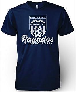 Rayados de Monterrey Mexico Retro 86 Futbol Soccer T Shirt Camiseta Jersey Mty