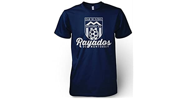 Amazon.com : Rayados de Monterrey Mexico Retro 86 Futbol Soccer T Shirt Camiseta Jersey Mty : Sports & Outdoors