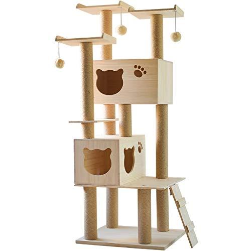 DMMW Sfera d'attaccatura del Giocattolo del Gatto del Gatto del Gatto della lettiera del Gatto del Gatto della Struttura rampicante del Gatto