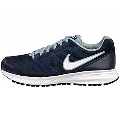 Nike Mens Downshifter 6 Midnight Navy/White/Mgnt Grey Running Shoe 7.5 Men US
