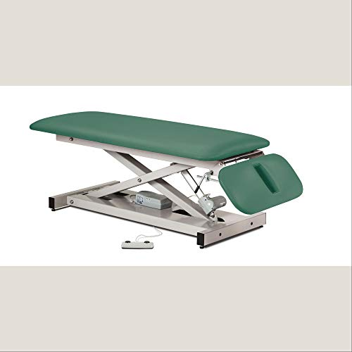 - Power Height Treatment Exam Table with Space Saver Drop Section - 27