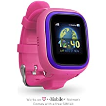 TickTalk 2.0 Touch Screen Kids Smart Watch, GPS Phone Watch, with New App, Top Rated Positioning Chip, Things To Do Reminder, Phone/Messaging (SIM CARD INCLUDED)(Pink)