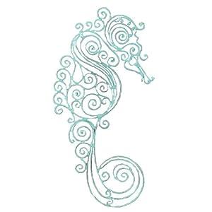 41NCgdrXzNL._SS300_ Seahorse Wall Art & Seahorse Wall Decor