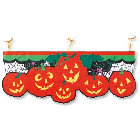 Lillian Vernon Halloween Jack-o-Lanterns Porch Banner - 56