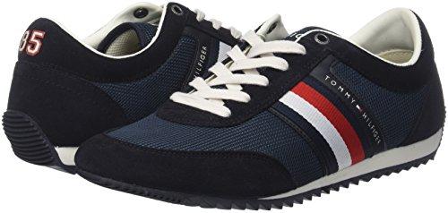 Tommy Hilfiger Företags Mens Sneakers Blå