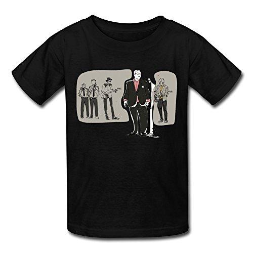 Price comparison product image BYONE St Paul and The Broken Bones Concert Tour Big Boys & Girls Cotton O-Neck T Shirt Black
