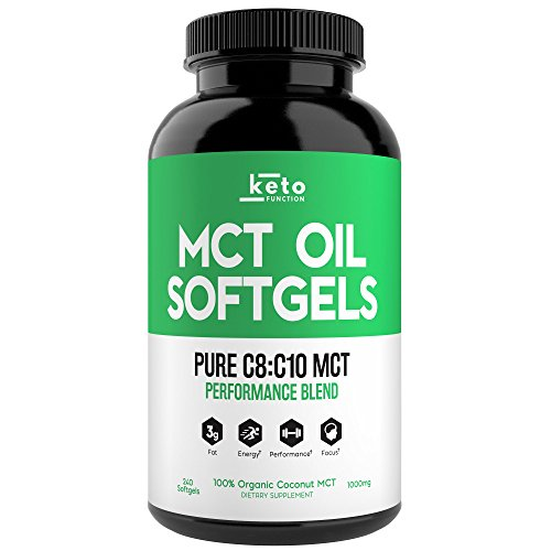 KETO Function Capsules Coconuts Performance