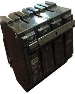 GE GENERAL ELECTRIC THQMV150WL 2 POLE 150 AMP Circuit Breaker New No Box