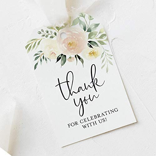 Favour Tag Reception Thank You Thank you note Square thanks tag Ramona Collection favors tag Simple Thanks Tag Classic Thanks Tag