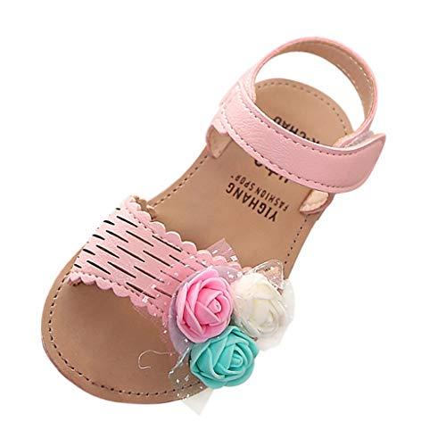 Baby Shoes,VoberrySummer ChildrenInfant Kids Baby Girls Lovely Cute Flower Princess SandalsShoes Pink
