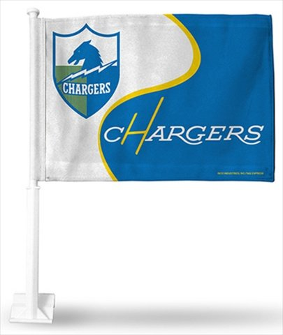 Diego San Flag Chargers (San Diego Chargers Retro Logo Car Flag)