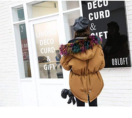 Cordon Femmes Jeune À Camouflage Longues De Mode Kaki Col Manteau Capuche Cordon À Veste Élasticité Imprimé De Décontracté Survêtement Court Fourrure De D'hiver Manches SrTASq