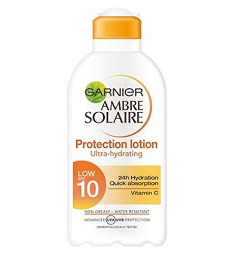Price comparison product image Garnier Ambre Solaire Protection Lotion Spf10 200Ml