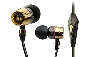 Monster Turbine Pro Gold Audiophile In Ear Speaker with ControlTalk (Discontinued by Manufacturer)